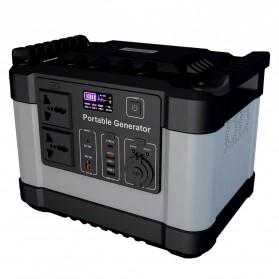 JYE Portable Outdoor Emergency Power Supply Station 220V 1000W - G1000 - Black - 5