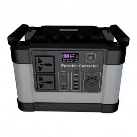JYE Portable Outdoor Emergency Power Supply Station 220V 1000W - G1000 - Black - 6