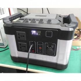 JYE Portable Outdoor Emergency Power Supply Station 220V 1000W - G1000 - Black - 8