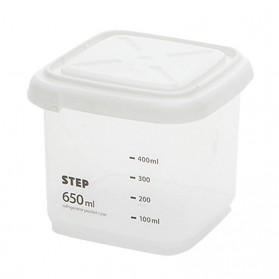 WBBOOMING Toples Wadah Penyimpanan Makanan Food Storage Container 650ml - W1804 - White