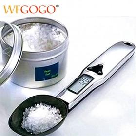 WFGOGO Timbangan Dapur Digital Kitchen Scale 500g 0.1g - BB006 - Black/Silver