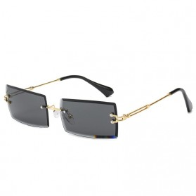 ZXRCYYL Kacamata Retro Sunglasses Women UV400 - 3112 - Gray