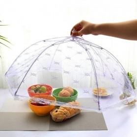 TEENRA Tudung Saji Cover Penutup Makan Umbrella Food Cover - FAN-08 - Mix Color