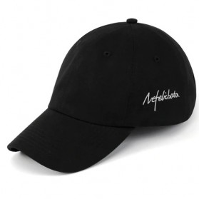 COZOK Topi Baseball Snapback Wanita Nefelibata Letters Emboss - HA08 - Black - 5