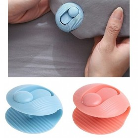 YOWEI Penjepit Clip Pengencang Sprei Kasur Bed Cover Fastener Fixer 6 PCS - J09 - White