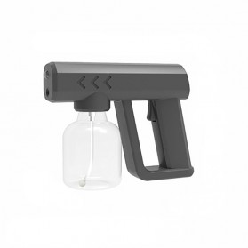BLBeam Pistol Semprot Uap Air Disinfection Spray Gun 300ml With Blue Light - S588 - Black