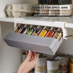 Isfriday Laci Penyimpanan Bumbu Dapur Storage Shelf Spice Organizer - IS230 - White