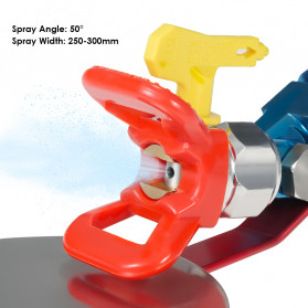 KKMOON Spray Gun Paint Guide Disc 7/8 Inch - K-80 - 4