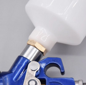 AETool Professional Spray Gun Nozzle HVLP Airbrush 1.7mm - H-827 - Blue - 7