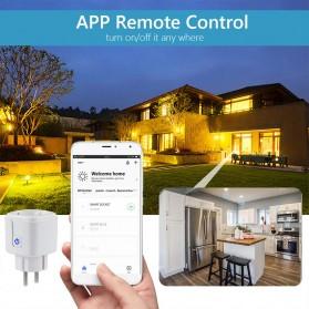Avatto Tuya Stop Kontak WiFi Socket Smart Plug 16A - ZEU-003 - White - 3