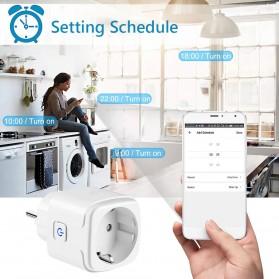 Avatto Tuya Stop Kontak WiFi Socket Smart Plug 16A - ZEU-003 - White - 6