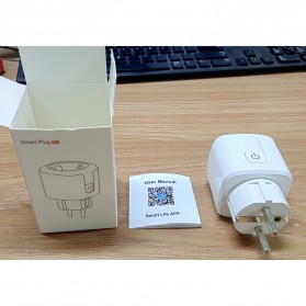 Avatto Tuya Stop Kontak WiFi Socket Smart Plug 16A - ZEU-003 - White - 11