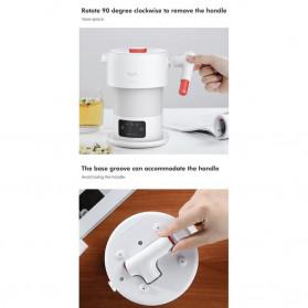Xiaomi DEERMA Electric Kettle Teko Lipat Pemanas Listrik 600ML - DEM-DH206 / DH207 - White - 7
