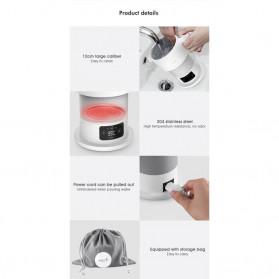 Xiaomi DEERMA Electric Kettle Teko Lipat Pemanas Listrik 600ML - DEM-DH206 / DH207 - White - 8