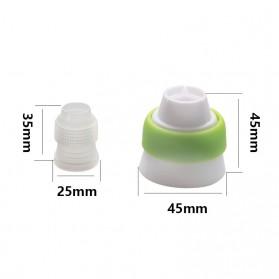 SHENHONG Kepala Nozzle Cetakan Cream Kue Decorating Pastry Tip 13 PCS - L201 - Silver - 5