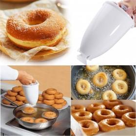 VOGVIGO Alat Pembuat Adonan Donat DIY Drop Donut Maker Tool - JJYE02 - White - 2