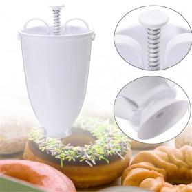 VOGVIGO Alat Pembuat Adonan Donat DIY Drop Donut Maker Tool - JJYE02 - White - 3