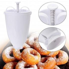 VOGVIGO Alat Pembuat Adonan Donat DIY Drop Donut Maker Tool - JJYE02 - White - 7