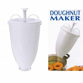 VOGVIGO Alat Pembuat Adonan Donat DIY Drop Donut Maker Tool - JJYE02 - White - 9