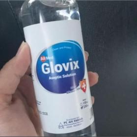 Glovix Hand Sanitizer Antiseptic Cair 250ml - 7