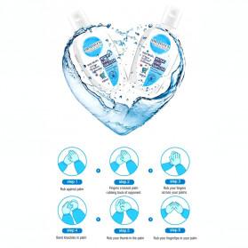 Cool Days Hand Sanitizer Antiseptic Gel Moisturizing Fresh Scent 100ml - 3
