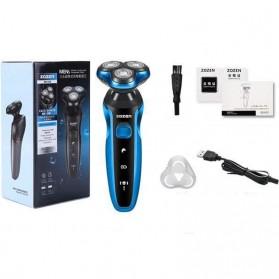 ZOZEN 5001 Electric Shaver Alat Cukur Rambut Jenggot Elektrik - ZN1159 - Blue - 2