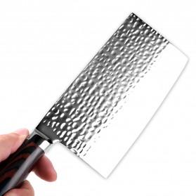 XITUO Pisau Dapur Chef Knife Cleaver 7 Inch - CK113 - Silver - 2