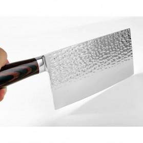 XITUO Pisau Dapur Chef Knife Cleaver 7 Inch - CK113 - Silver - 3