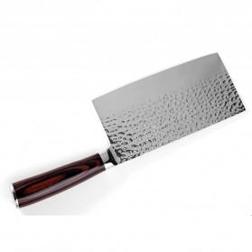 XITUO Pisau Dapur Chef Knife Cleaver 7 Inch - CK113 - Silver - 4