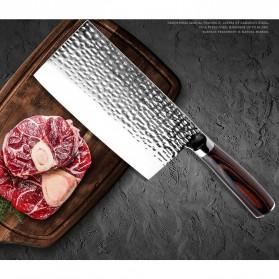 XITUO Pisau Dapur Chef Knife Cleaver 7 Inch - CK113 - Silver - 5