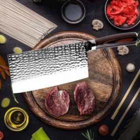 XITUO Pisau Dapur Chef Knife Cleaver 7 Inch - CK113 - Silver - 6