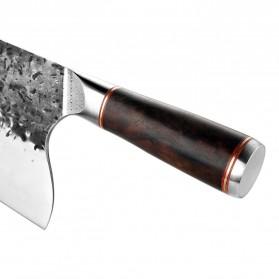 XITUO Pisau Dapur Chef Knife Cleaver Wide 8 Inch - LZJ-9 - Silver - 3