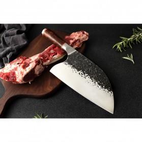 XITUO Pisau Dapur Chef Knife Cleaver Wide 8 Inch - LZJ-9 - Silver - 6