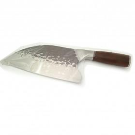 XITUO Pisau Dapur Chef Knife Cleaver Wide 8 Inch - LZJ-9 - Silver - 8