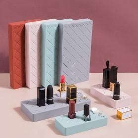 PUOU Rak Organizer Make Up Kosmetik Holder Compartment Silicone Size M - P03 - Red - 3