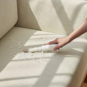JISULIFE Portable Lint Remover Roller Penghilang Bulu Serat Kain - LN01 - White - 5