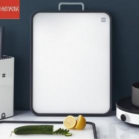 Huohou Talenan Double Sided Cutting Board Stainless Steel PP - HU0136 - White