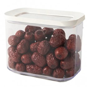 VOGVIGO Toples Wadah Penyimpanan Makanan Snack Food Storage Can 1000ML - FTK250 - White