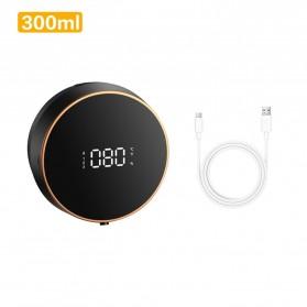 Cell Dispenser Sabun Dinding Otomatis Liquid Soap Touchless Sensor 300ML - 9060 - Black
