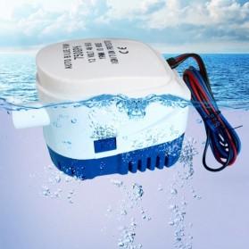 SURGEFLO Pompa Air Submersible Water Bilge Pump 600GPH 12V - BR-ZD750 - White
