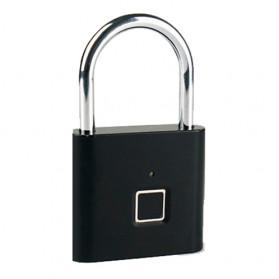 BACO Gembok Koper Rumah Smart Fingerprint Padlock - P9 - Black - 2