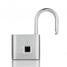 BACO Gembok Koper Rumah Smart Fingerprint Padlock - P9 - Black - 9