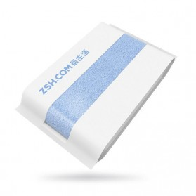 Xiaomi ZSH Handuk Polygiene Size Besar - Blue