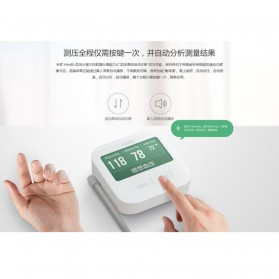Xiaomi iHealth 2 Sphygmomanometer Pengukur Tekanan Darah Digital Blood Pressure BPM1 - White - 3