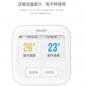 Xiaomi iHealth 2 Sphygmomanometer Pengukur Tekanan Darah Digital Blood Pressure BPM1 - White - 10