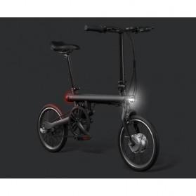Xiaomi QiCycle Sepeda Elektrik Lipat Smart Bicycle (Tanpa Baterai) - Black - 2