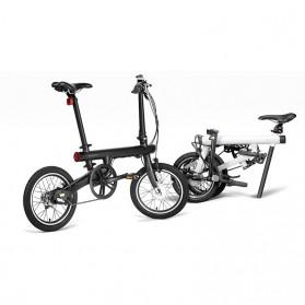 Xiaomi QiCycle Sepeda Elektrik Lipat Smart Bicycle (Tanpa Baterai) - Black - 4