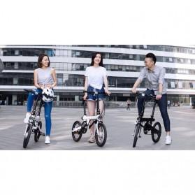 Xiaomi QiCycle Sepeda Elektrik Lipat Smart Bicycle (Tanpa Baterai) - Black - 9