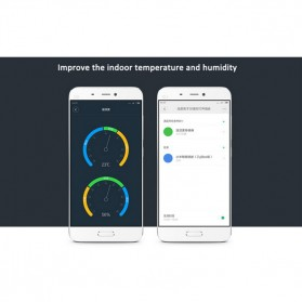 Xiaomi Temperature and Humidity Sensor for Xiaomi Multifunctional Gateway - WSDCGQ01LM - White - 5
