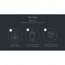 Xiaomi Temperature and Humidity Sensor for Xiaomi Multifunctional Gateway - WSDCGQ01LM - White - 7